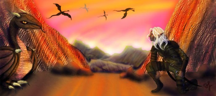 I pray that the world never runs out of dragons by SSandE