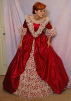 Elegant Gown 5 by Valentine-FOV-Stock