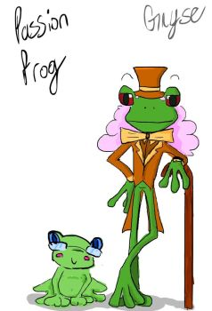 Passion Frog by Gnyse
