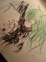 Green is the NEW Black. by Little-Tanoshii-Gaki