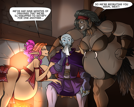 Between an Orc a a Hard Place by RiddleAugust