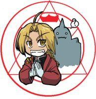 Full Metal Alchemist chibi by nyu