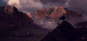 Canyon Hunter by erenarik