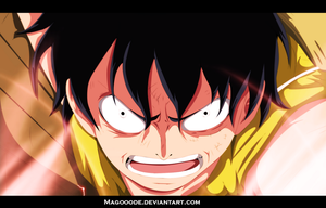 Luffy by Magooode