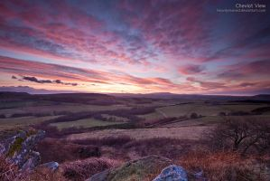 Cheviot View by jamesholephoto