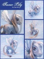 Snow Lily by customlpvalley