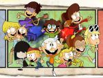 The Loud House Family by xeternalflamebryx