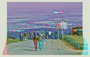 Brocken Ascension 3D ::: Anaglyph HDR Stereoscopy by zour