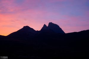Sunset at Pourtalet 2 : Ossau by setnan