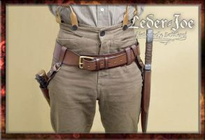 Headhunter's Belt-1 by Leder-Joe