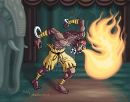 Dhalsim by Stnk13