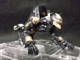 Decepticon Hatchet beast mode by forever-at-peace