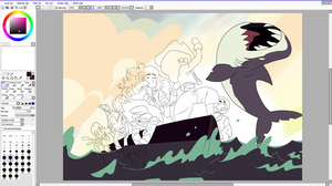 Crystal gems past wip color started by MermaidSoupButtons