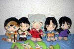 Inu Yasha Plush Collection 2012 by kratosisy