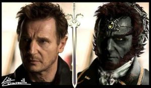 Liam Neeson as Ganondorf by Lwiis64