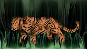 Paper Tiger by kparks