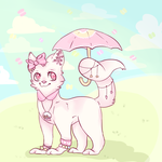 It's raining macarons! by TheDogThatPaints