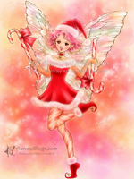 Candy Cane Fairy by aruarian-dancer