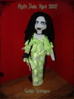 Gothic Grievance Rag Doll by DollzMaker