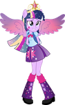 Equestria Girls: Twilight Sparkle Rainbowfied by TheShadowStone