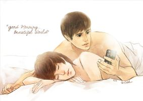 WONKYU : Good Morning.. Beautiful World by rixal
