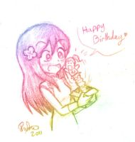 .:HBD Rose:. by firehorse6