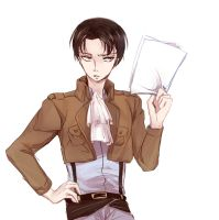 Heichou doodle by noDuckiEallow