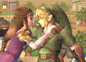 Link x Zelda Brawl Screenshot by AnaPaulaDBZ