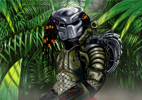 Predator Jungle by RonanQ