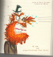 Mr Gum and gingerbread man Alan Taylor by 8Mery8