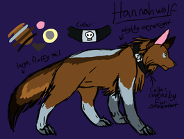Hannahwolf Reference Sheet by maranight
