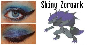 Pokemakeup Shiny Zokoark by nazzara