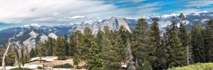 Yosemite Panorama by MrSlowNiko