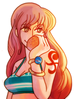 Nami's One True Love by Umbrielle