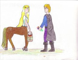 Hilde and the Hero by GreenElfie