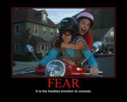 Fear Motivational Poster-Sheldon Cooper by QuantumInnovator