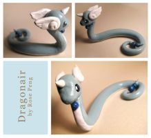 Sculpey Dragonair by dragofyre7