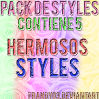 +Mis Primeros Styles by frandy03