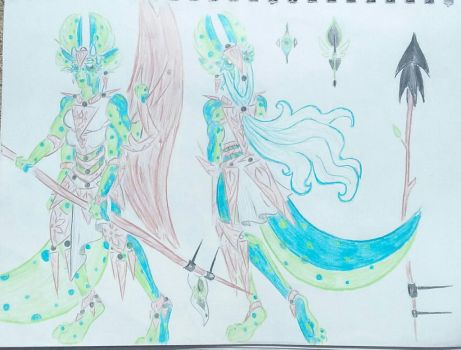 Both alien concept! by WhimsiKitty