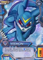 002 VEEMON - Digimon Fusion CCG FAN CARD by veemon-tamer
