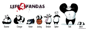 Left 4 Pandas by Bunguin