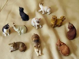 Army of cats (1) by General-Custer