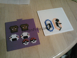 Perler Earrings by dylrocks95