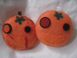 Rabied oranges plush by P-isfor-Plushes