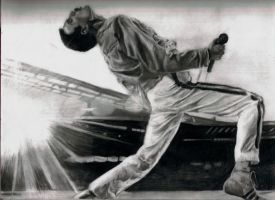 Freddie Mercury by neumii