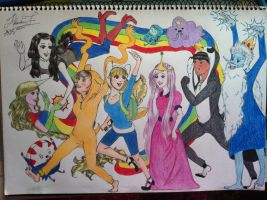 Adventure Time! (Completed) by CeruleanHeavens