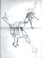 Poorly drawn Rathalos by Inventor757
