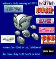 Anime Con poster entry one by notacukoofangirl121