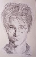 Harry Potter in his 3rd year by AchetAton