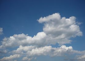 Sky With Clouds by Myrthilla